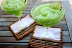 Lime Sherbet Margari