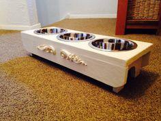 Pet Feeder, Dog Bowls, My Etsy Shop, Pets, Shopping, Animals And Pets