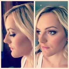 Bridal Hair & makeup by Harpier Mobile hair & makeup stylists Brisbane, Gold Coast, Sunshine Coast www.harpier.com #harpier