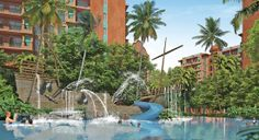 When you own a condo at Seven Seas you will enjoy much more than your beautifully designed and well equipped fully furnished apartment. You can dowse yourself in the cool waters of the cave pool, experience the volcano slide, or take it easy in the shaded Jacuzzi.