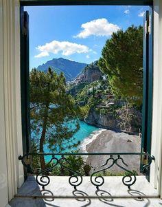 Positano, Amalfi Coast, Italy. - destination honeymoon