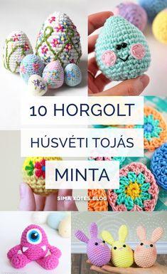 Finger Crochet, Crochet Hats, Crochet Decoration, Easter Crochet, Clay Art, Crochet Patterns, Blog, Crafts, Diy