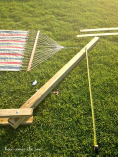 DIY Hammock Stand - Here Comes The Sun