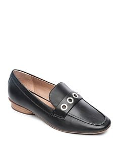 bfe50b986ca BERNARDO WOMEN S INGRID GROMMET LEATHER LOAFERS.  bernardo  shoes
