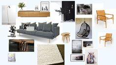 Mood Board Inspo._Episode Six -The Love Shack_Living Room_houseofhome.com.au Living Area, Living Room, Room Style, Entryway Bench, Lounge, Mood, Grey, Furniture, Home Decor