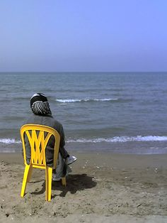 Woman by the Caspian Sea
