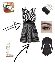 Untitled #9 by rekac on Polyvore featuring polyvore, fashion, style, BCBGeneration, Apt. 9, Gianvito Rossi, Clare V. and clothing