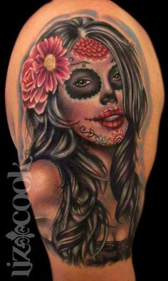 Oh I how I love this one da mostest..muertos by Liz Cook
