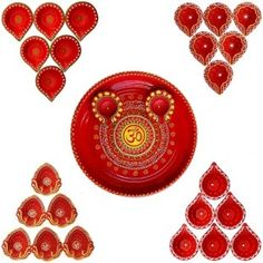 Beautifully Handmade Om Pooja Thali With Attractive 26 Diye Set for Diwali Festival  https://www.craftera.in/Beautifully-Handmade-Om-Pooja-Thali-With-Attractive-26-Diye-Set-for-Diwali-Festival diya for diwali, diyas for puja, diyas for decoration, diya lamps for pooja
