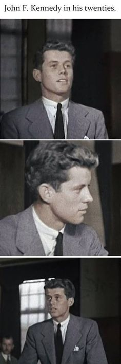 Sweet young Jack Kennedy