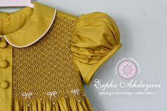 Exclusive Smocking: Readymade