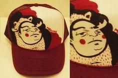 old custm cap