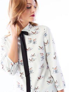 Stylowa wzorzysta koszula , MOHITO