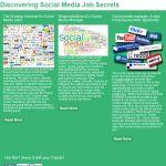 Social Media Job Secrets on facebook