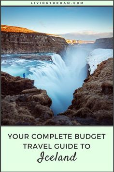 The only Iceland travel guide you'll ever need! Want to visit all the amazing waterfalls, see the Northern Lights and experience what it's like to climb into an ice cave? Featuring the perfect one week itinerary, where to stay and how to see Iceland on a budget. Including Reykjavik and beyond | visit Living to Roam for more travel tips | livingtoroam.com #icelandtravel #icelandguide