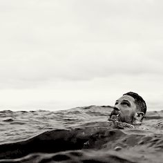 Tom Hardy in water....