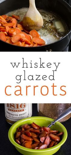 If you need a simple and delicious side dish, whiskey glazed carrots from /chattavore/ are a perfect-and inexpensive-choice!