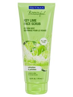 Key Lime Face Scrub from Freeman | Find more cruelty-free beauty @Quirkist |
