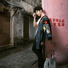#井柏然 #JingBoran #징보란 #정백연 #model #actor #mcm