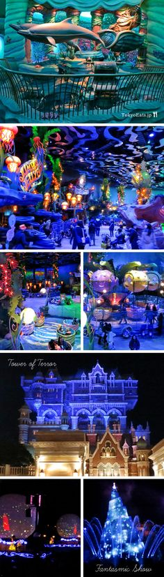 Mermaid Lagoon & other attractions, Tokyo Disney Sea