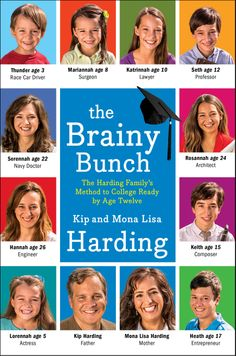 'The Brainy Bunch': Family's homeschooling method sends 7 children to college by age 12