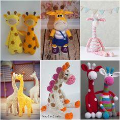 Cute Crochet Giraffe Patterns - Free Patterns• DIY & Crafts