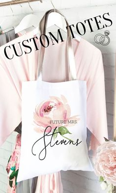 Have you ever seen such a sweet tote bag? These rose theme bridal party totes are soooo sweet and the perfect bag to take with you on wedding errands or as part of your bridesmaid proposal. Bridesmaid Gifts From Bride, Bridesmaid Tips, Will You Be My Bridesmaid Gifts, Bridesmaid Tote Bags, Bridesmaid Proposal Box, Bridesmaids And Groomsmen, Bride Getting Ready, Your Turn, Bridal Shower Gifts
