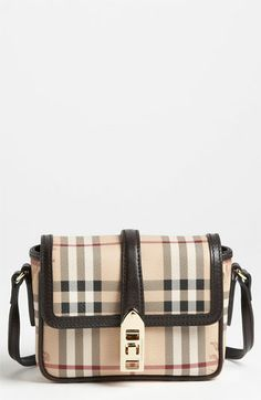 Burberry 'Haymarket Check - Berkeley' Crossbody Bag available at #Nordstrom