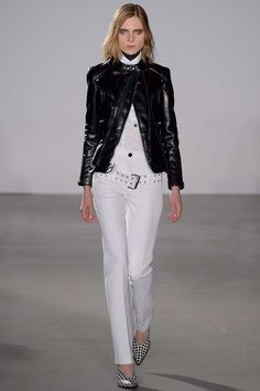 Altuzarra Fall 2013 Ready-to-Wear Collection Slideshow on Style.com - lots of white pants on the NYC runways so far