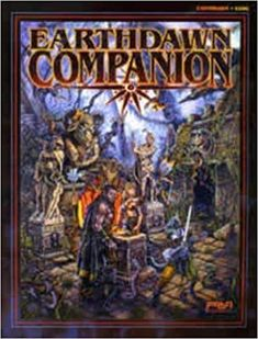 Earthdawn Companion (Earthdawn Roleplaying, by Louis J. Ral Partha, Sword Art, Fantasy, Dice, Books, Artwork, Europe, Collections, Amazon