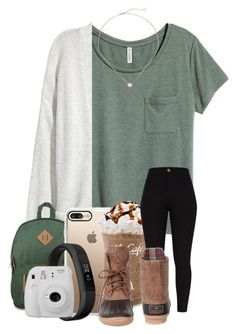 """OOTD : No school today because of snow. . ."" by meinersk45195 ❤ liked on Polyvore featuring Kofta, Dickies, Casetify, Kendra Scott, Fitbit and Fujifilm"