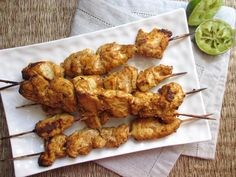 COOKING JULIA: BROCHETTES DE POULET TANDOORI