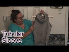 Sleeve machine knitted tubular, Part 1 of 2 - YouTube