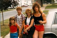 80's fashion ...Omg that guy in the tank top...too much