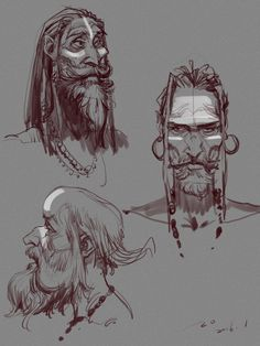 ArtStation - ascetic monk, hao yan