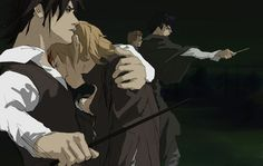 Marauders, --who's been messing with Moony?