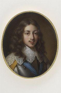 Portrait de Gaston d'Orléans, deuxième fils de Henri IV, frère de Louis XIII   Marie-Victoire Jaquotot