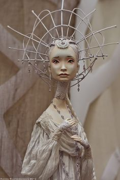Art Dolls - Sculpture - hand made dolls and characters - Moscow Fair 2012 - beautiful
