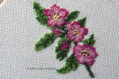 Free Charts and Tips  for Miniature Needlework Projects: Small Scale Floral  Needlepoint Designs
