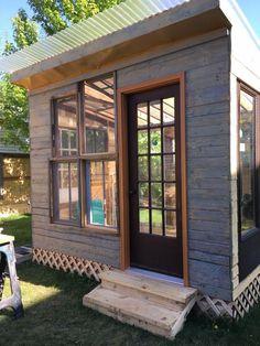 diy gartenhaus so bauen sie ein kleines holzhaus im garten. Black Bedroom Furniture Sets. Home Design Ideas