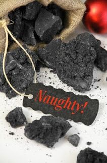 Party Frosting: Christmas ideas: Coal! LOTS OF IDEAS FOR CHRISTMAS