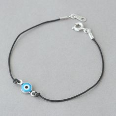 Evil Eye String Bracelet from Kellinsilver.com
