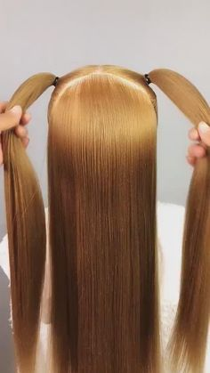 Short Hair Styles Easy, Cool Hair Color, Hair Videos, Color Trends, Hair Lengths, Braided Hairstyles, Blonde Hair, Braids, Projects