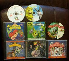 8 Disney's PC CD computer games Shrek Toy Story Bugs Life Mermaid Dalmatians