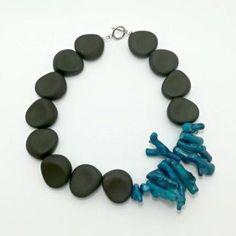 Statetment necklace - LALOU Turquoise Bracelet, Bracelets, Jewelry, Jewlery, Jewerly, Schmuck, Jewels, Jewelery, Bracelet