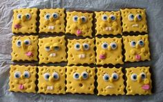 SpongeBob Cookie