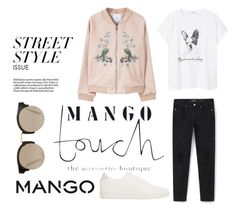"""#mango"" by amraaaaa ❤ liked on Polyvore featuring Chiara Ferragni and MANGO"