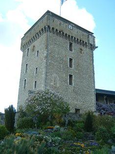 Château fort de Lourdes - le donjon