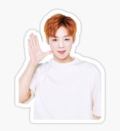 Park Jihoon Wanna One Pegatina