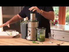 Juicing is a great step to attaining a healthful and energetic lifestyle. In this video, Joe Cross from Reboot Your Life shows us a healthy mean green juice . Green Juice Recipes, Healthy Juice Recipes, Juicer Recipes, Healthy Juices, Healthy Smoothies, Healthy Drinks, Get Healthy, Blender Recipes, Smoothie Recipes